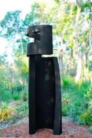 Ned Kelly sculpture by Leonard Sabol