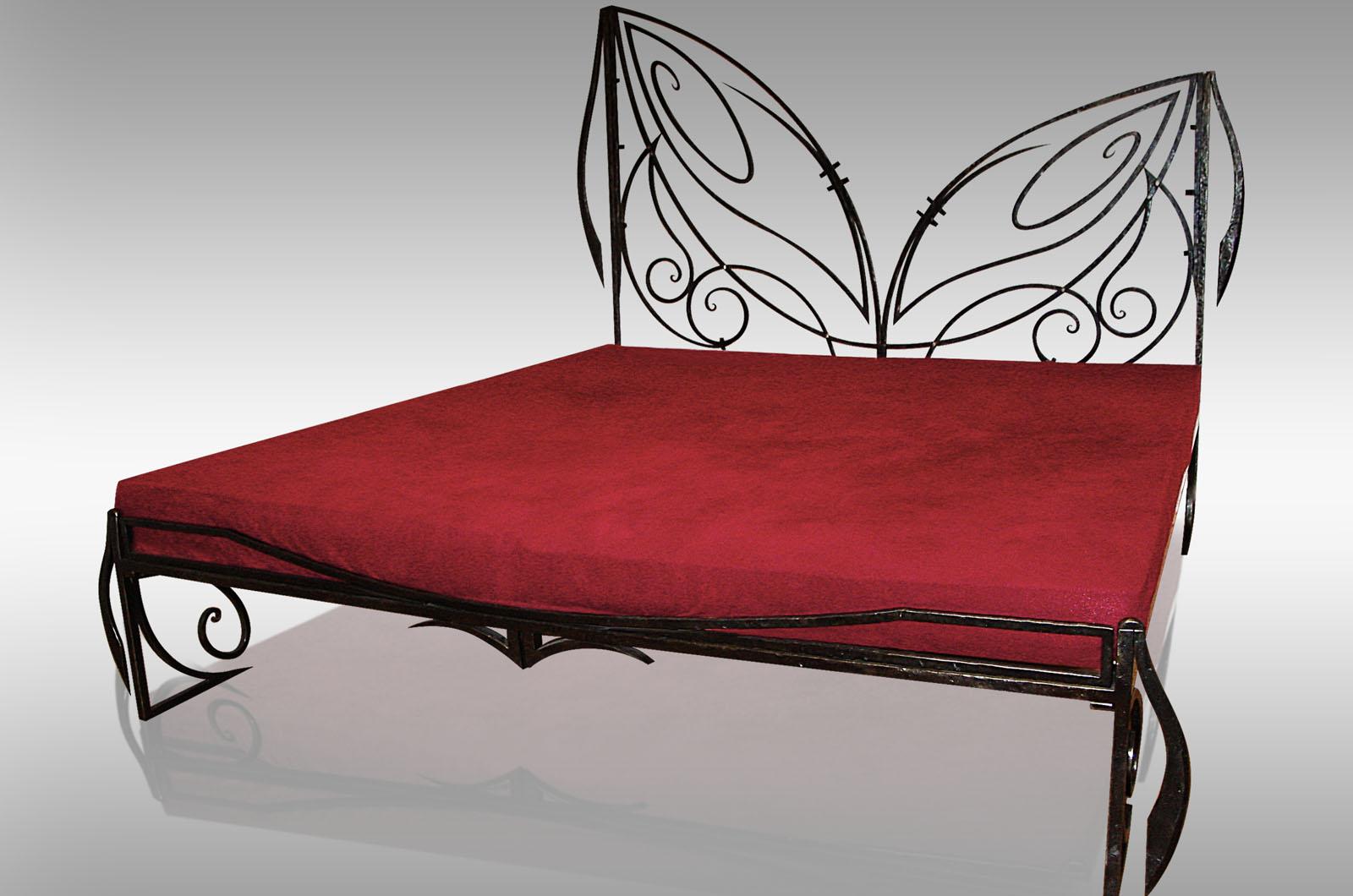 Custom made bed frame leonard metal design for Custom made bed frame