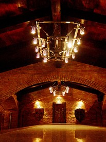 Wrought Iron-Chandelier