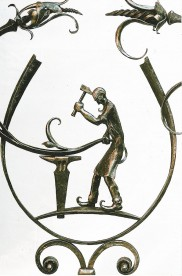 Blacksmith wrought Iron