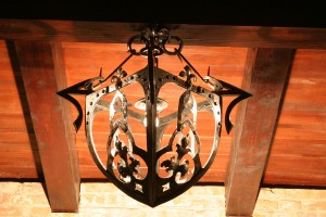 Chandelier Wine Cellar