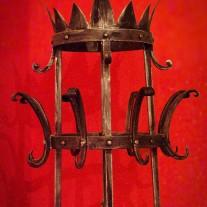 Cloth hanger wrought iron