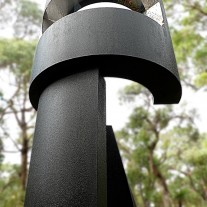 Ned Kelly sculpture by Leonard Sabol