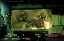 Copper Repousse Process
