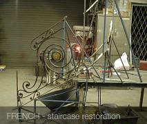 wrought Iron restoration