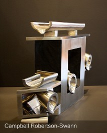 Stainless Steel Polished Sculpture