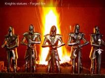 Knights Statues