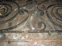 Balustrade restoration