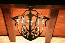 Chandelier metal design