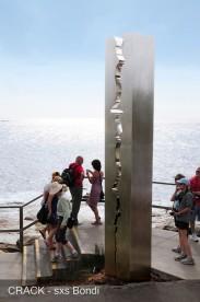 Crack-Leonard-Sculpture By The Sea-Bondi
