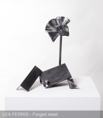 Forged Metal Sculpture