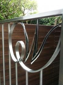 Stainless Steel Logo