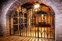 Wine Cellar metal Work
