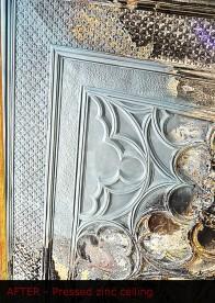 Zinc Ceiling Repair