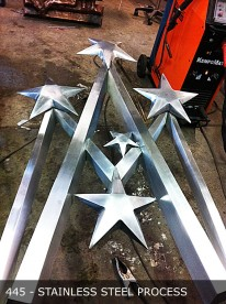 stainless Steel-Statue